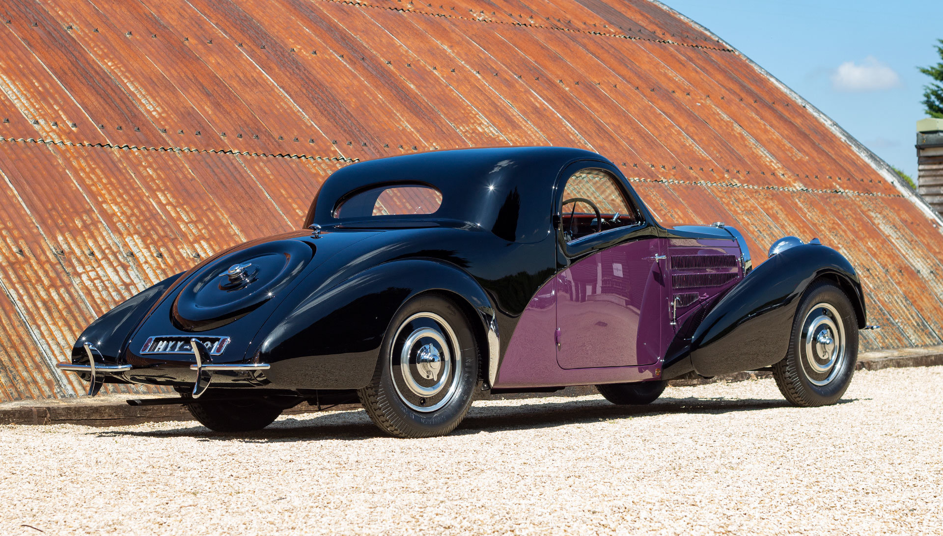 1938 Bugatti Type 57 Atalante by Gangloff SOLD (picture 6 of 24)