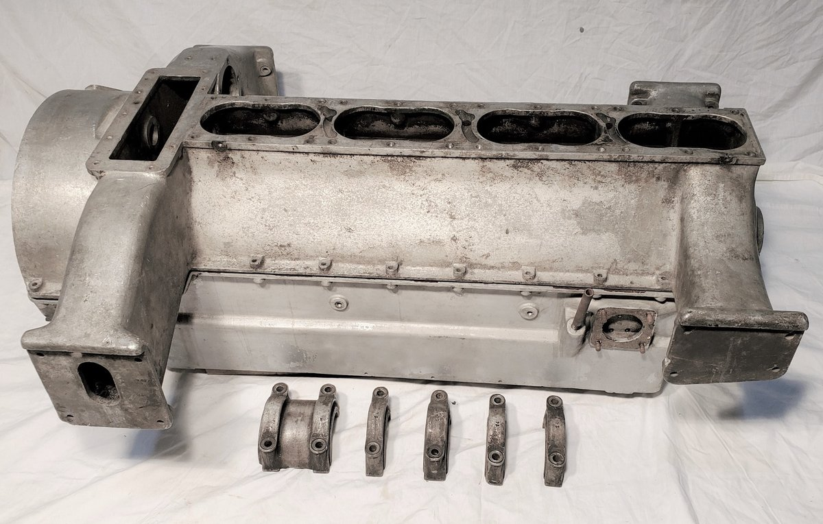 1934 Bugatti Type 57 Motor for Project - PRICE REDUCED For Sale (picture 1 of 7)