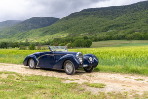 Picture of 1939 Bugatti Type 57C Aravis Cabriolet Lot 133 For Sale by Auction