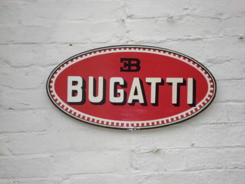 Bugatti garage sign For Sale (picture 2 of 2)