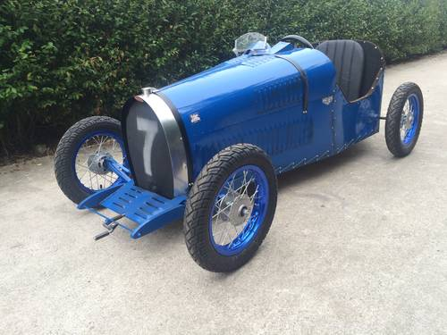 2016 Bugatti handmade cyclekart with electro engine For Sale (picture 1 of 6)