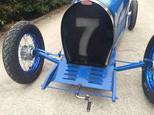 2016 Bugatti handmade cyclekart with electro engine For Sale (picture 5 of 6)