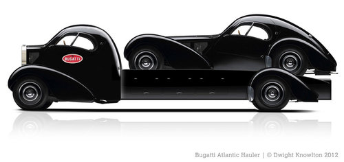 1936 Bugatti T 57 Atlantic Replica For Sale (picture 1 of 1)