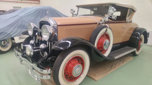 1929 Buick 121 series 60 Sport Roadster (LHD) For Sale (picture 1 of 6)