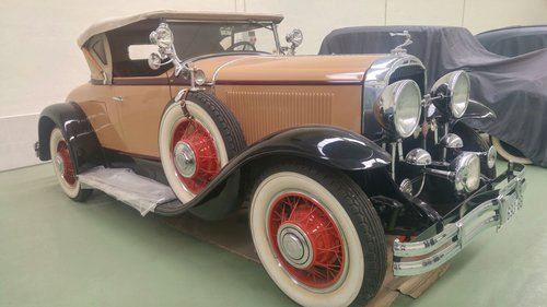 1929 Buick 121 series 60 Sport Roadster (LHD) For Sale (picture 2 of 6)