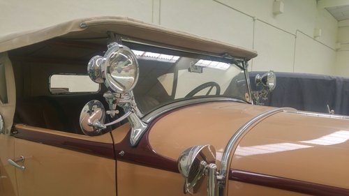 1929 Buick 121 series 60 Sport Roadster (LHD) For Sale (picture 5 of 6)