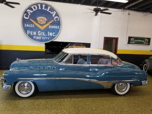 1950 Buick Roadmaster 4DR Sedan For Sale (picture 1 of 6)