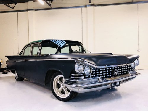 1959 BUICL LE SABRE 4 DOOR SEDAN - LIGHT PROJECT SOLD (picture 1 of 6)