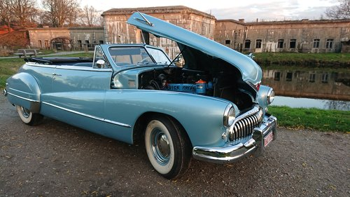 1947 Buick Roadmaster convertible stunning condition For Sale (picture 1 of 6)
