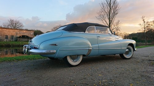 1947 Buick Roadmaster convertible stunning condition For Sale (picture 3 of 6)