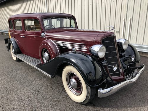 1934 BUICK MCLAUGHLIN 90L ULTRA RARE CANADIAN CLASSIC! SOLD (picture 1 of 6)