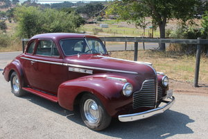 1940 Buick Straight 8 coupe, California car, yellow plate SOLD