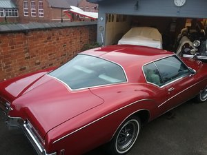Buick riviera boattail 1972 SOLD