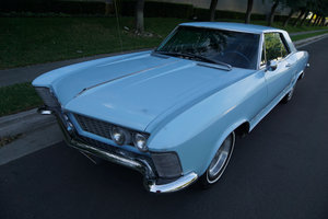 Orig California owner 1963 Buick Riviera 401 V8 SOLD