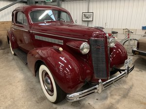 1937 BUICK Straight Eight Opera Coupe SOLD