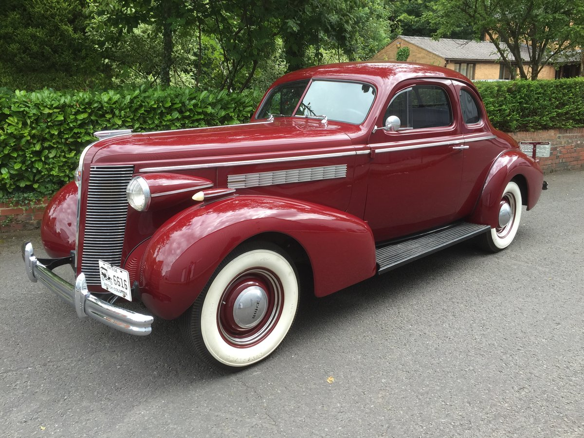 1937 BUICK Straight Eight Opera Coupe SOLD (picture 4 of 6)