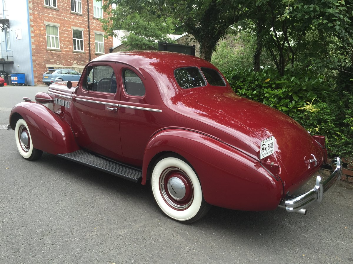 1937 BUICK Straight Eight Opera Coupe SOLD (picture 5 of 6)