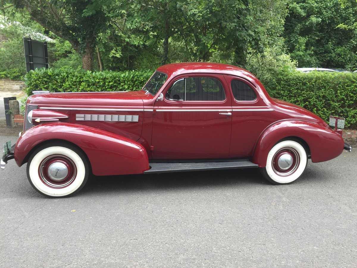 1937 BUICK Straight Eight Opera Coupe SOLD (picture 6 of 6)
