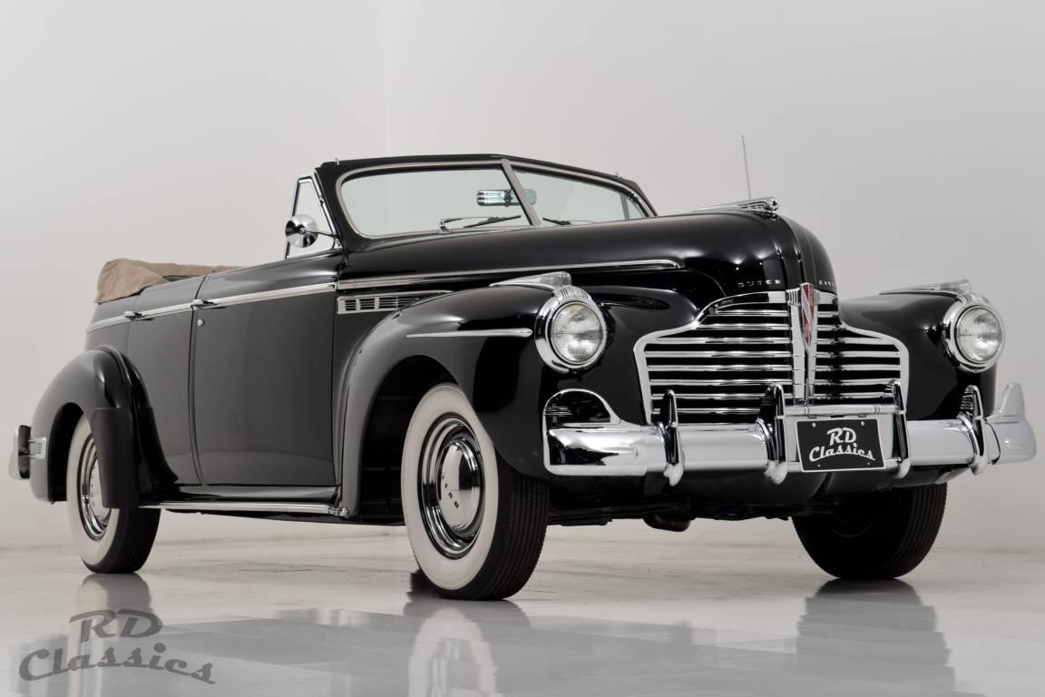 1941 Buick Super 51-C Conv Frame Off Restoration For Sale (picture 1 of 6)