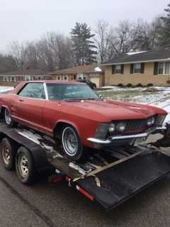 1963 Buick Riviera (Corinth, KY) $19,500 obo For Sale (picture 1 of 6)