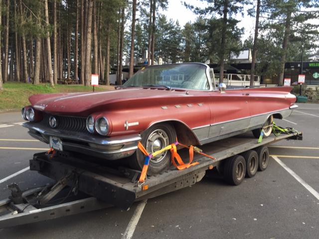 1960 Buick Electra 225 convertible, fully loaded California car For Sale (picture 1 of 6)