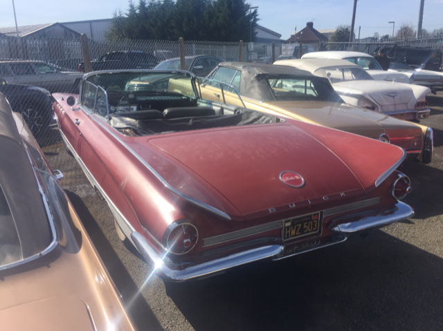 1960 Buick Electra 225 convertible, fully loaded California car For Sale (picture 4 of 6)