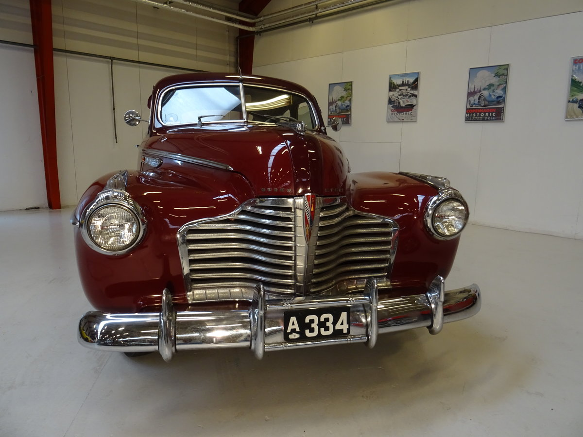 1941 Buick Special Model 46-S, 2-door Sedanet For Sale (picture 2 of 6)