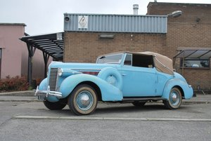 1938 Buick Special Series 40 Albemarle Drophead Coupé For Sale by Auction