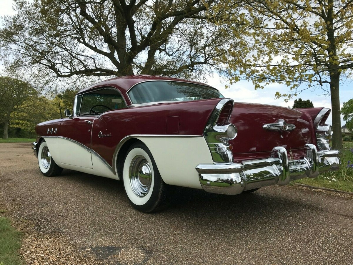 1955 BUICK SPECIAL 2DR HARDTOP PILLARLESS COUPE For Sale (picture 2 of 6)
