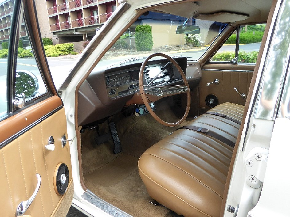 1964 Buick Skylark Sport Wagon = 300-v8 Ivory(~)Tan $22.5k For Sale (picture 4 of 6)