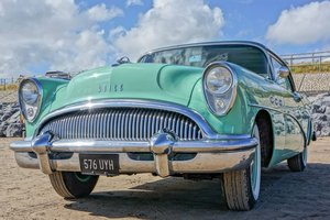 1954 Buick century riviera 3 speed manual For Sale