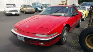 1990 Red Buick Reatta For Sale