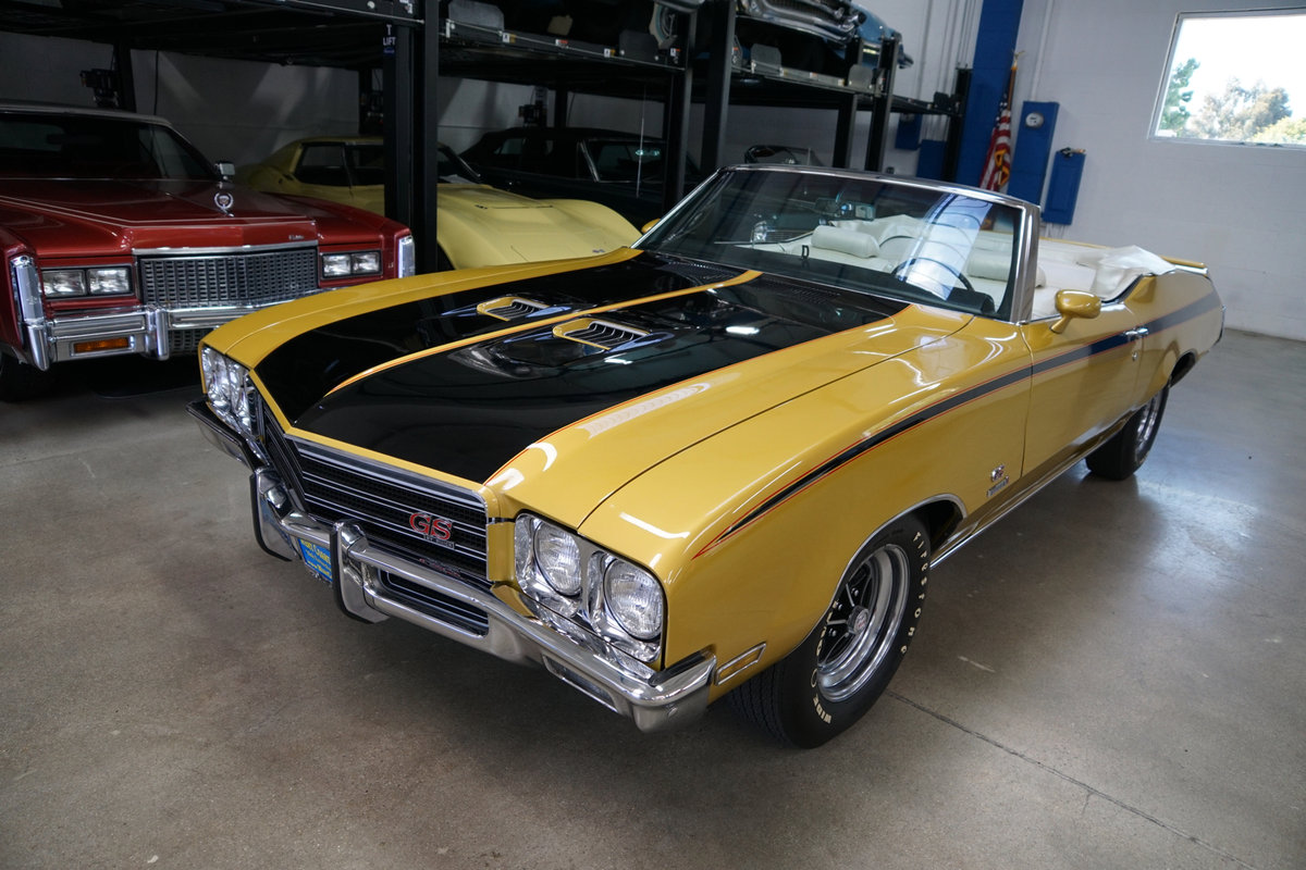All original 1971 Buick GS 455 Stage 1 Convertible SOLD (picture 1 of 6)