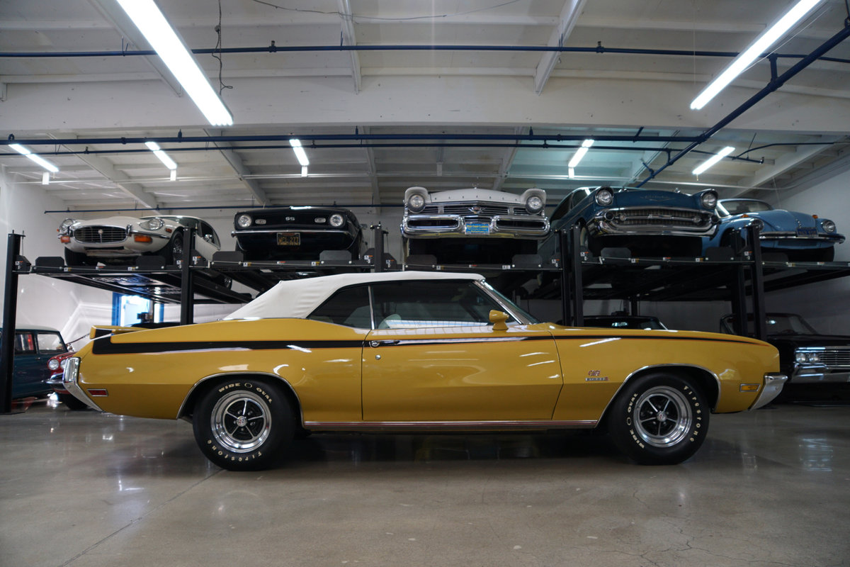 All original 1971 Buick GS 455 Stage 1 Convertible SOLD (picture 2 of 6)