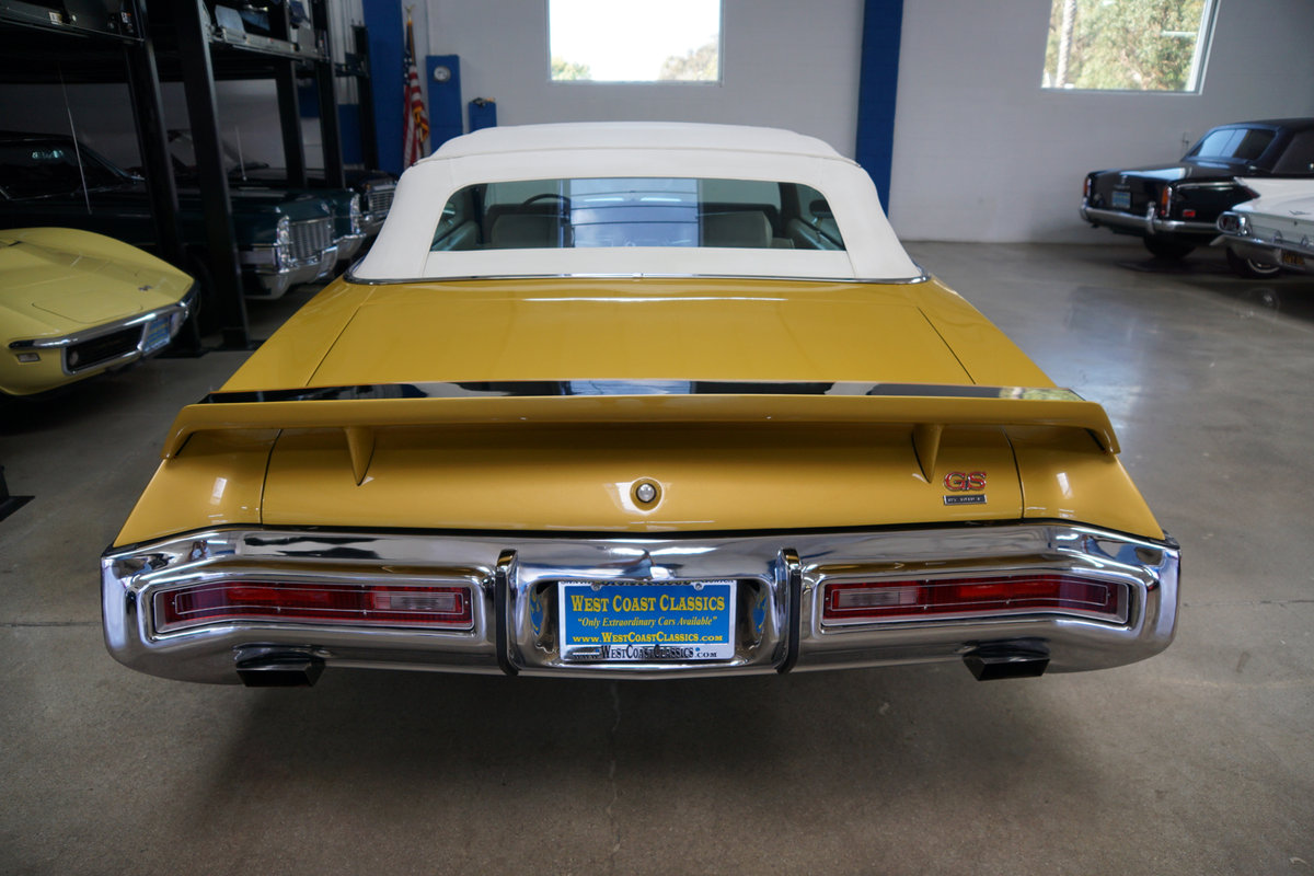 All original 1971 Buick GS 455 Stage 1 Convertible SOLD (picture 4 of 6)