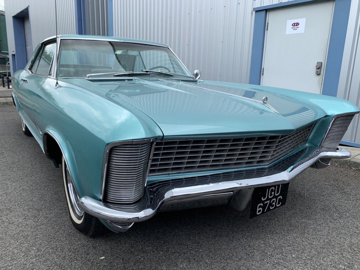 1965 BUICK RIVIERA CLAMSHELL COUPE For Sale (picture 1 of 6)
