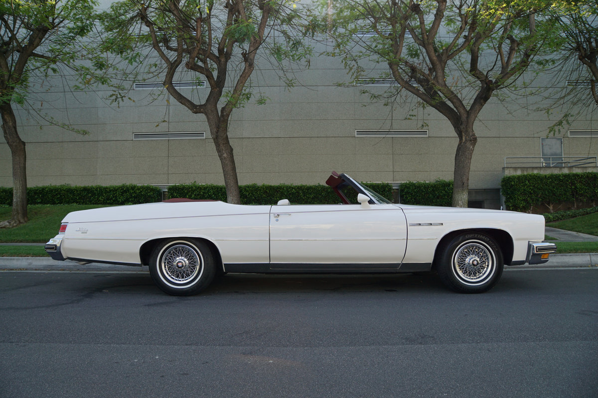 1975 Buick LeSabre 350 V8 Convertible SOLD (picture 3 of 6)