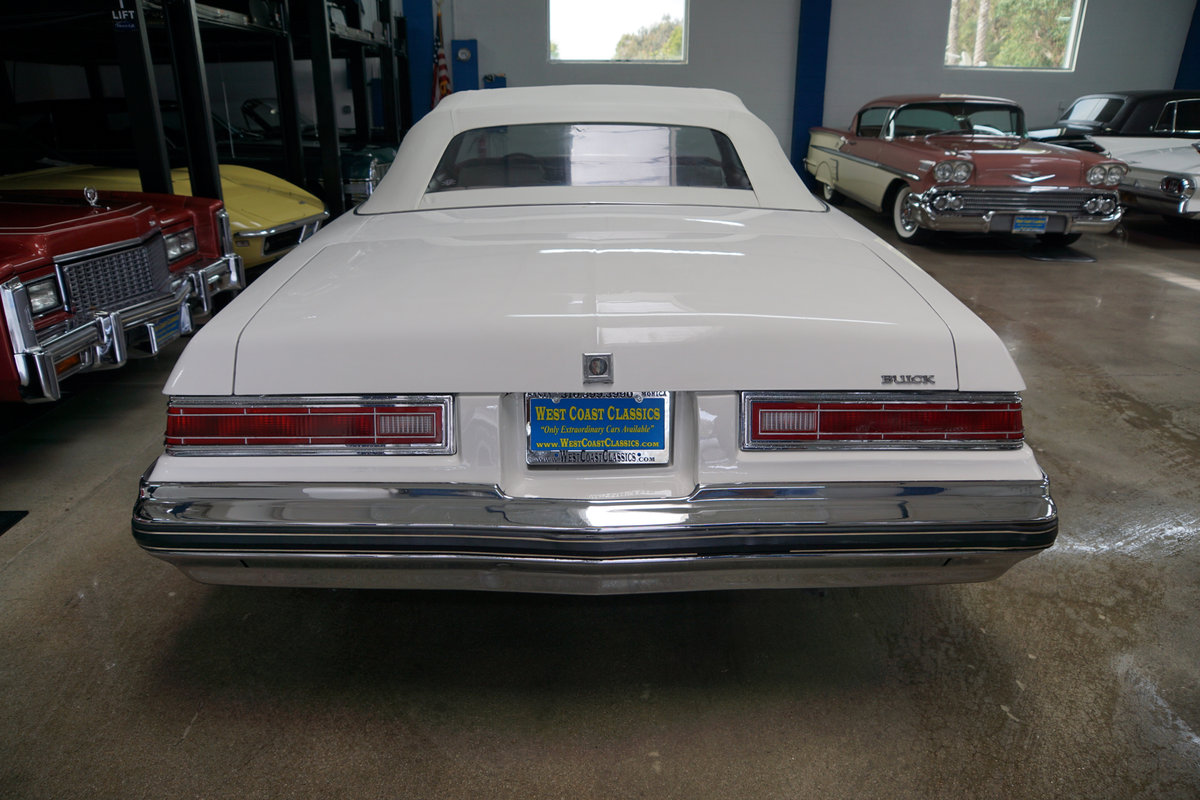 1975 Buick LeSabre 350 V8 Convertible SOLD (picture 4 of 6)