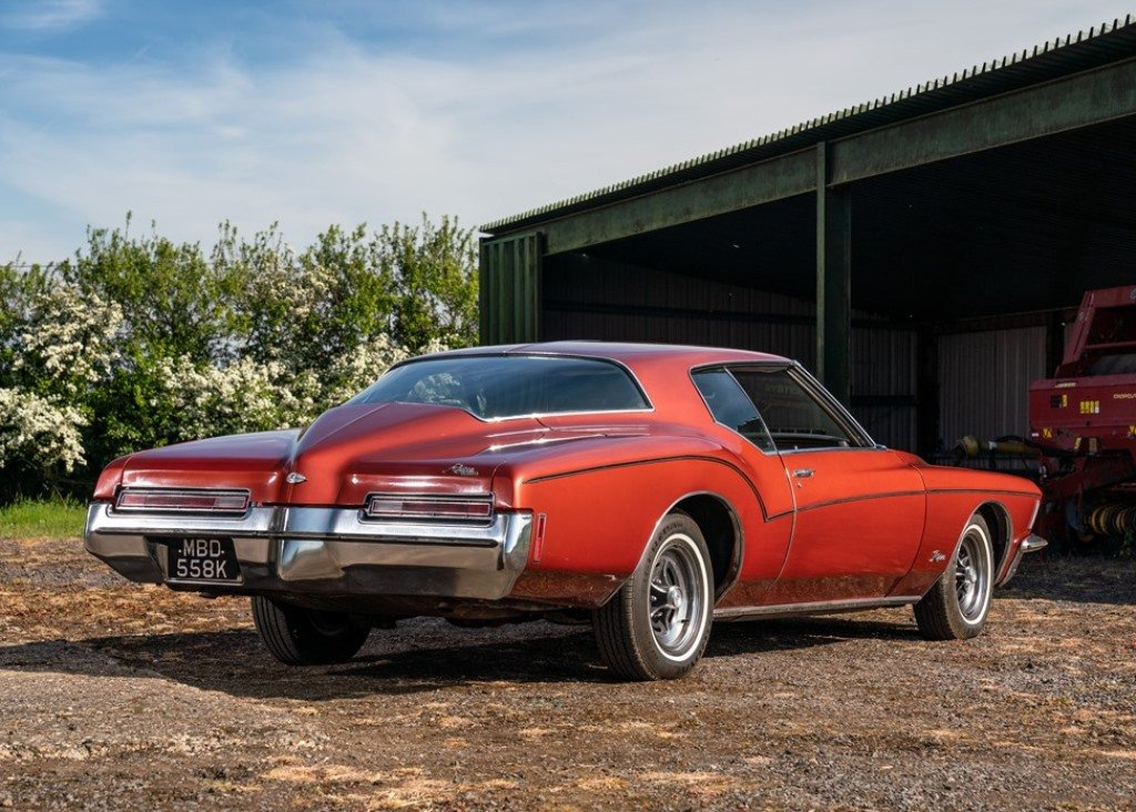 1972 Buick Riviera Boattail Coup (Generation Three) SOLD by Auction (picture 4 of 6)