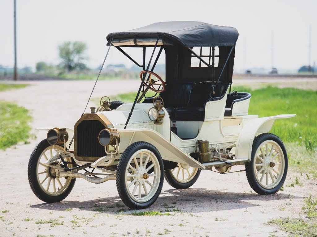 1909 Buick Model 10 Roadster Three-Passenger Roadster For Sale by Auction (picture 1 of 6)