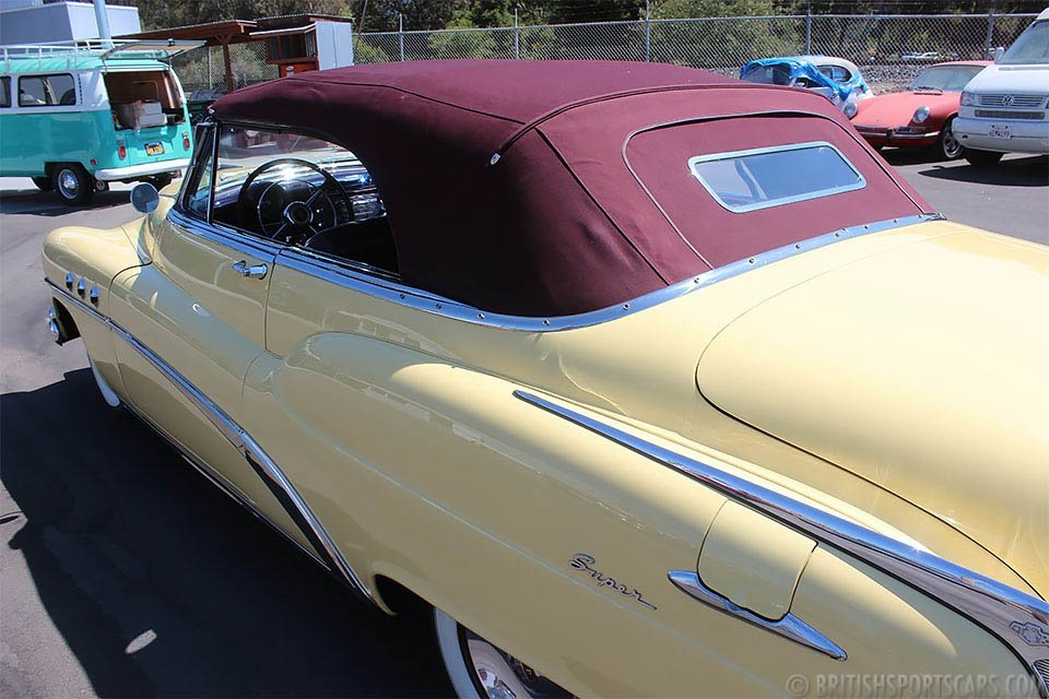 1953 Buick Super Convertible = Power-Top Clean Yellow $45k For Sale (picture 3 of 6)