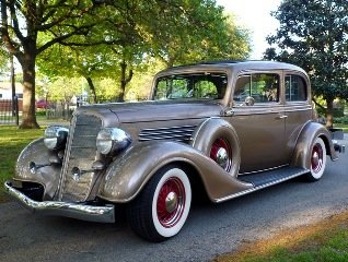 1935 Buick Victoria Show Winner PS PB PW AC Cruise C $89k For Sale