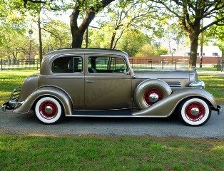 1935 Buick Victoria Show Winner PS PB PW AC Cruise C $89k For Sale (picture 2 of 6)