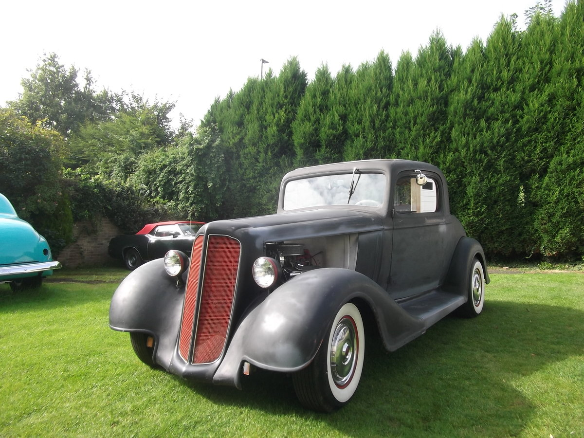 1935 Buick 40, 350 V8, 5.7L, Hot Rod, Real Eyecatching, A/C SOLD (picture 1 of 6)