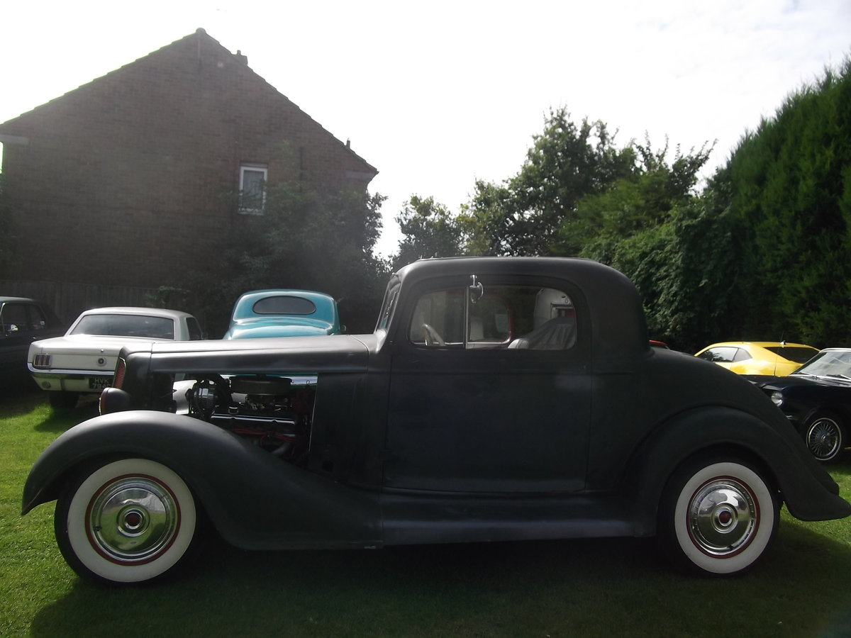 1935 Buick 40, 350 V8, 5.7L, Hot Rod, Real Eyecatching, A/C SOLD (picture 2 of 6)