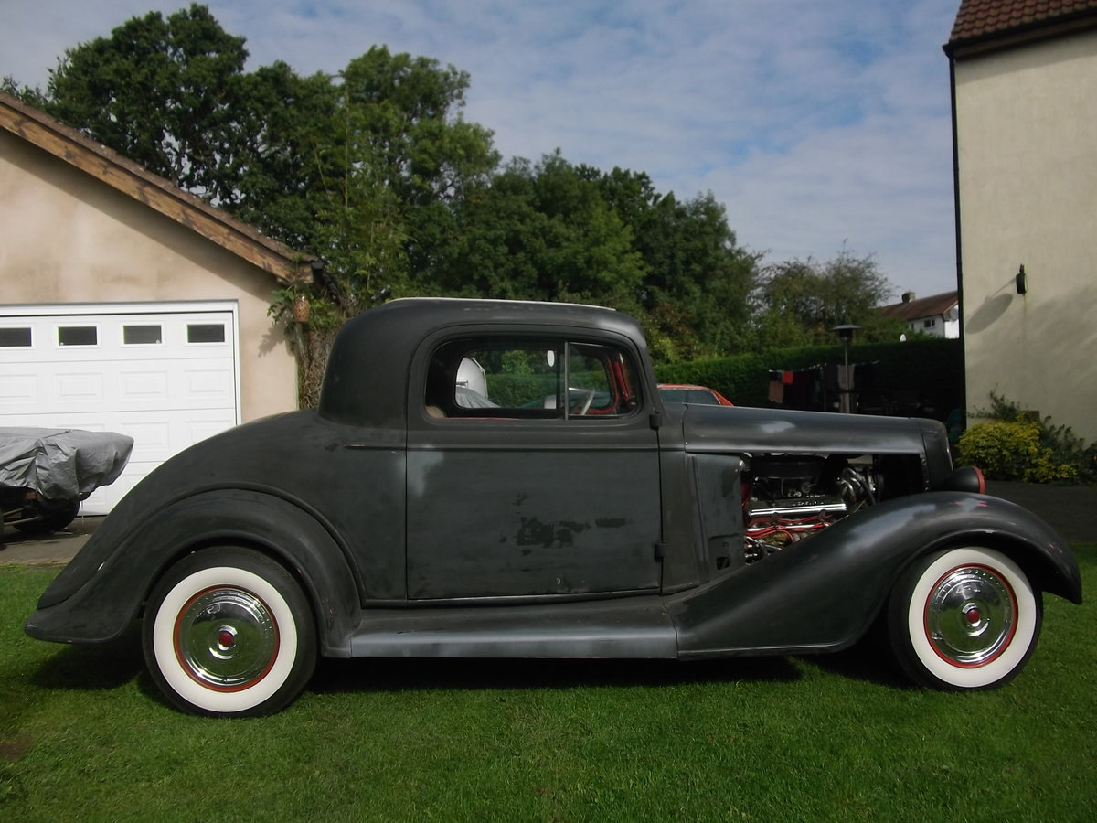 1935 Buick 40, 350 V8, 5.7L, Hot Rod, Real Eyecatching, A/C SOLD (picture 3 of 6)