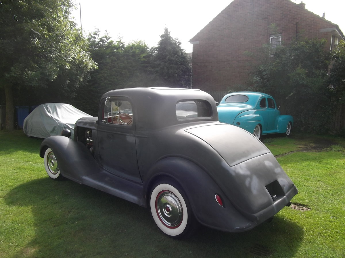 1935 Buick 40, 350 V8, 5.7L, Hot Rod, Real Eyecatching, A/C SOLD (picture 4 of 6)