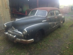 1947 Buick Super 8 sedan.UK RHD from new !!