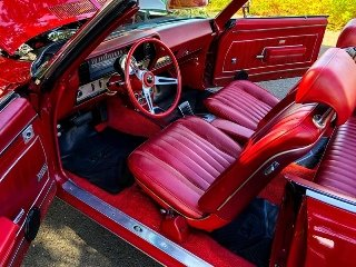 1969 Buick Skylark Convertible 350(~)350 Tilt Red $31.9k For Sale (picture 4 of 6)