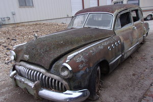 1949 Buick Roadmaster Flexible Hearse